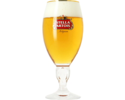 Beer glasses - Stella Artois 50cl stem glass