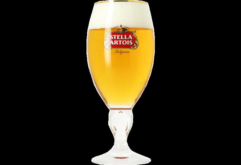 Beer glasses - Stella Artois 50cl stem glass