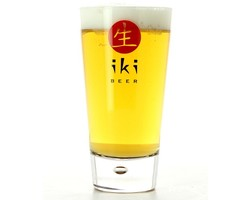 Home - Glass Iki Beer logo rouge