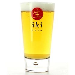 Accueil - Verre Iki Beer logo rouge