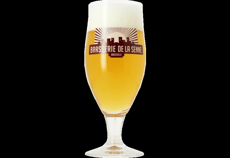Verres à bière - Verre Brasserie De La Senne - 33 cl