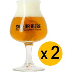 Ölglas - 2 Saveur Bière balloon glasses - 15 cl