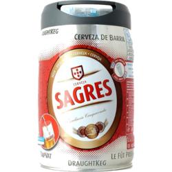 Fûts de bière - Fût 5L Sagres Beertender