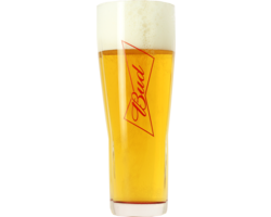 Beer glasses - Budweiser Bud 50cl glass