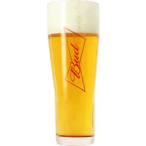 Budweiser Bud 50cl glass