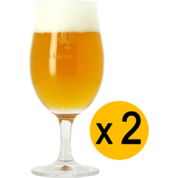 Ölglas - 2 Thornbridge Brewery tulip beer glasses - 25 cl