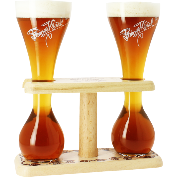 2 Kwak glasses with base - 33 cl