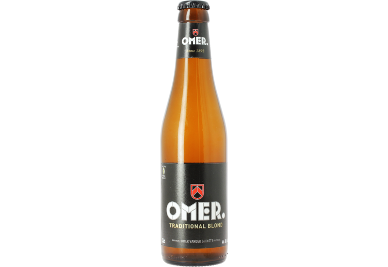 Bottled beer - Omer Traditional Blond