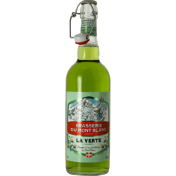 Bottled beer - Verte du Mont Blanc 75 cl