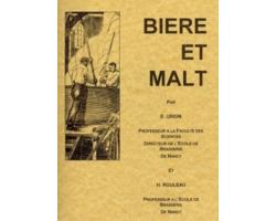 """Livres de brassage - Livre numérique : """"Bière et Malt"""""""
