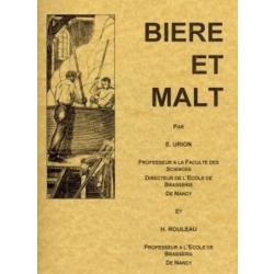 """Boeken over bier brouwen - Livre : """"Bière et Malt"""""""