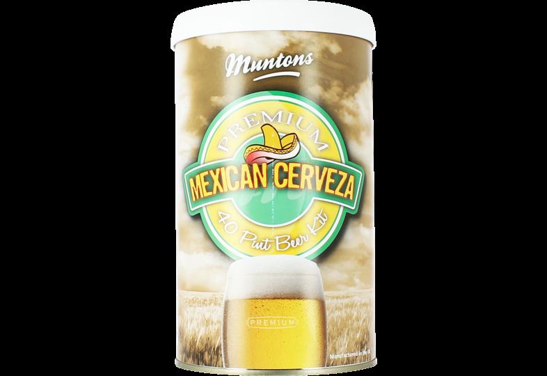 Kit voor bier - Kit à bière Muntons Mexican Cerveza