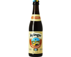 Bottled beer - Ayinger Weizenbock