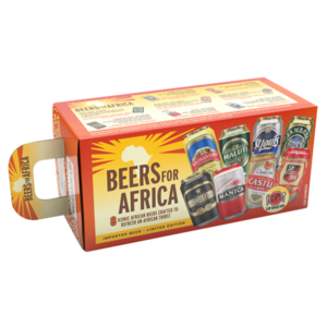 Gift Pack Beers For Africa