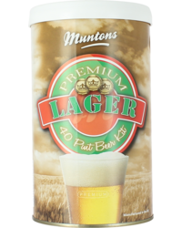 Kit à bière - Kit à bière Muntons Premium Lager