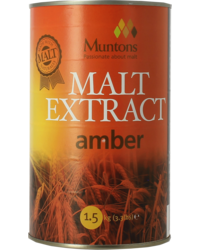 Extrait de malt - Muntons Amber Canned Malt Extract