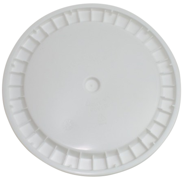 Undrilled Lid for 6.5-gallon brewing bucket