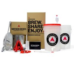 Kits de brassage - Kit de démarrage brassage Brew Share Enjoy, brassez la recette Chinook IPA (extrait et grains de trempage).