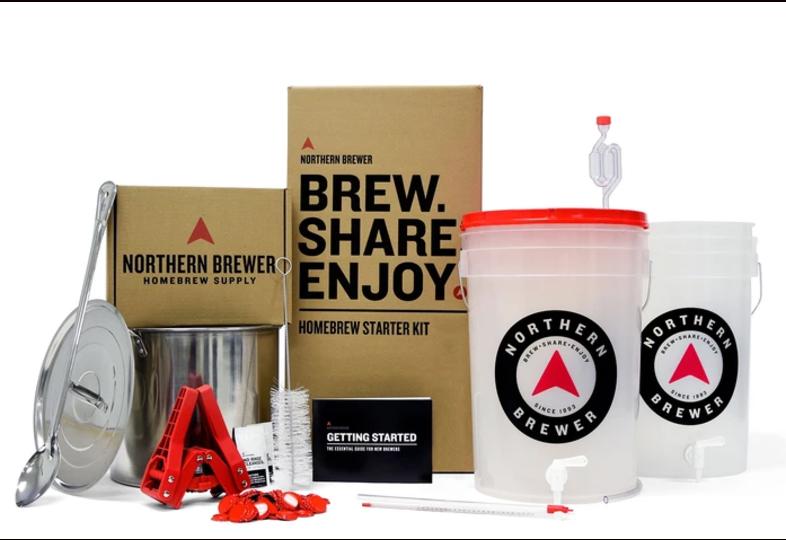 Kits de brassage - Homebrew Starter Kit - Brew Share Enjoy