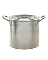 Accessori per la birrificazione -  Bollitore in acciaio inossidabile da 7,6 litri