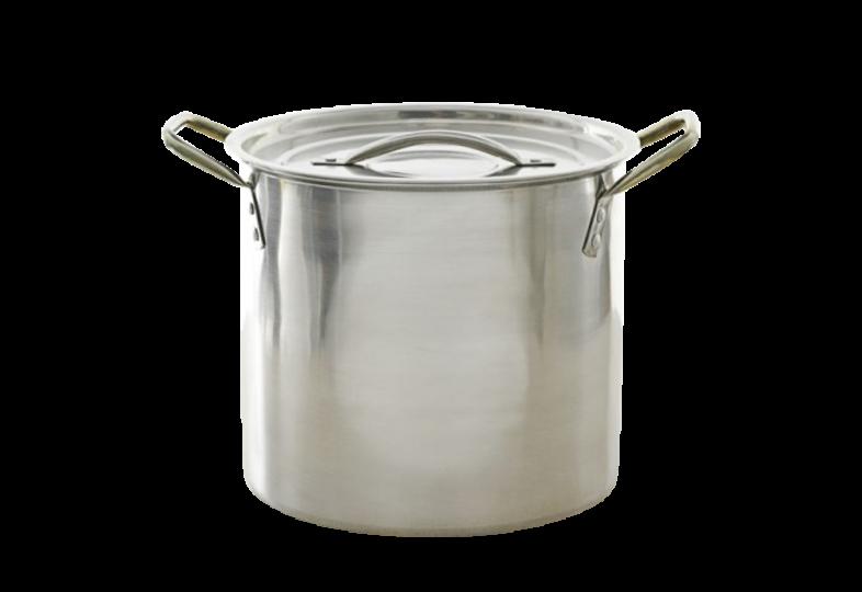 Brouwbenodigdheden - Roestvrijstalen pan van 2 gallon/7,6 liter