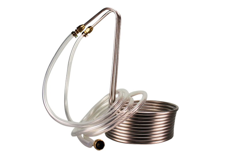 Burners and coolers - Silver Serpent Stainless Steel Immersion Wort Chiller