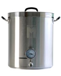 Accessori per la birrificazione - Bollitore MegaPot 1.2™ per birra da 57 litri con coperchio e termometro