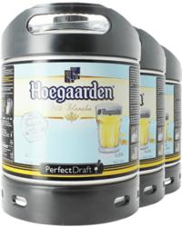 Fûts de bière - Pack 3 fûts 6L Hoegaarden