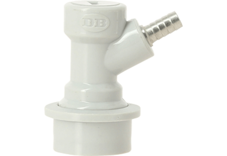 Tuyaux et raccords - Connecteur Ball Lock CO2 avec raccord porte-tuyau 7 mm - Tête de soutirage