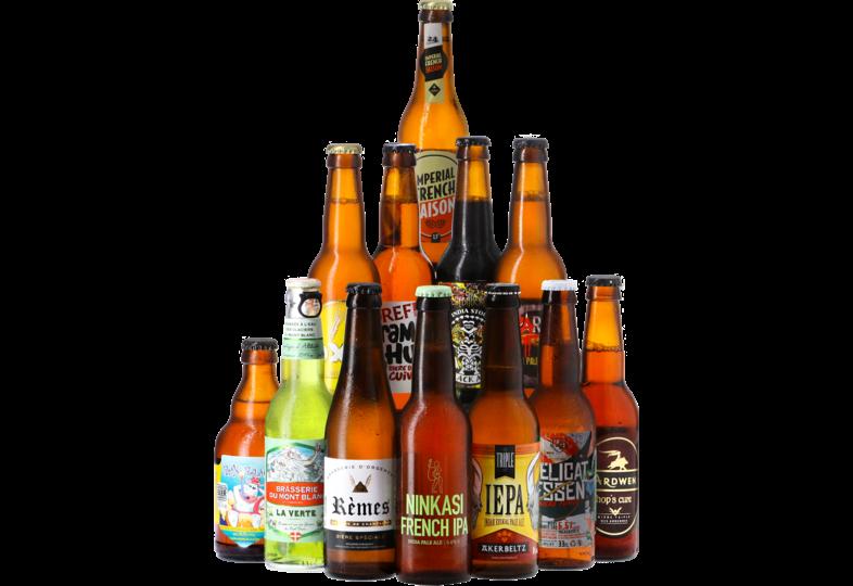 Bierpakketten - Bierpakket Frans.Craft.Bier - 12x33cl