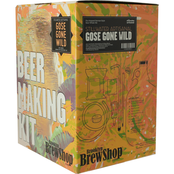 Brooklyn Brew Kit Stillwater Gose Gone Wild