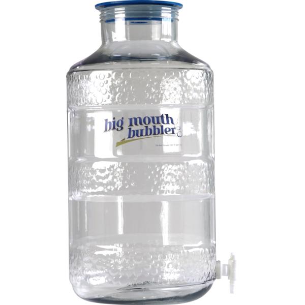 Siphonless Big Mouth Bubbler® - Ported 6,5 Gallon Plastic Fermentor