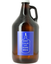 Brouwbenodigdheden - Growler Keep Calm and Homebrew