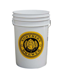 Gistingsvaten - Plastic gistemmer - 6,5 gallon / 25 liter