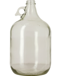 Dames-Jeannes - 1 Gallon Clear Glass Jug