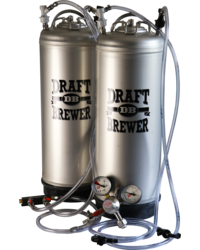 Brewing Accessories - Draft Brewer® Twin Keg System