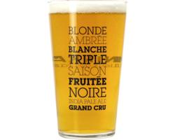 Verres à bière - Verre Ninkasi Plat - 25 cl