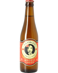 Bottled beer - La Virgen Madrid Lager