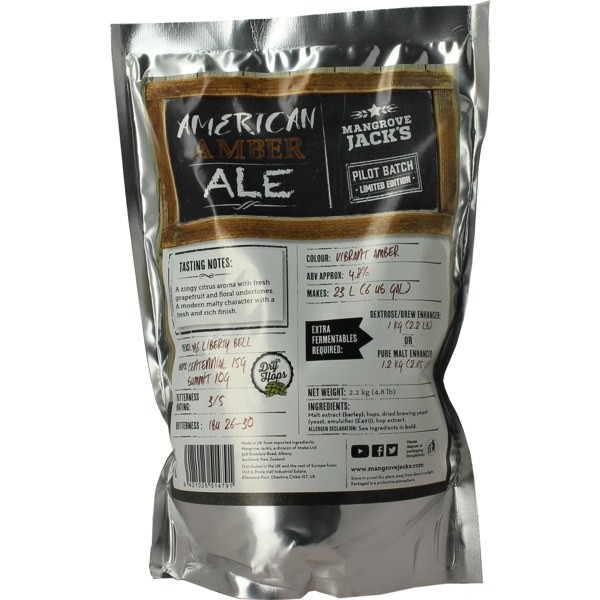 Kit Mangrove Jack's American Amber Ale - Limited Edition
