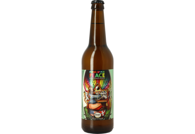 Bottled beer - Amager Piping Up for Peace