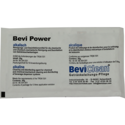 Nettoyage d un tirage pression - Nettoyant Bevi Power alcalin