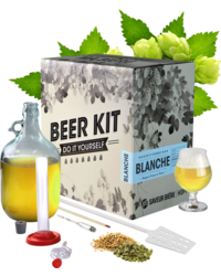Kit de bière tout grain - Brew Your Own Beer Kit - Blanche Wheat Beer