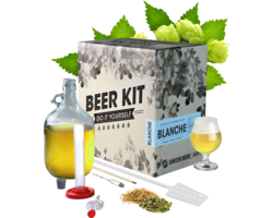 Kit de bière tout grain - Brew Your Own Beer Kit - Blanche Wheat Beer