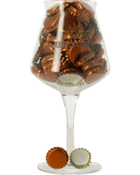 Accessori per la birrificazione - Capsules bronze avec encart 26mm