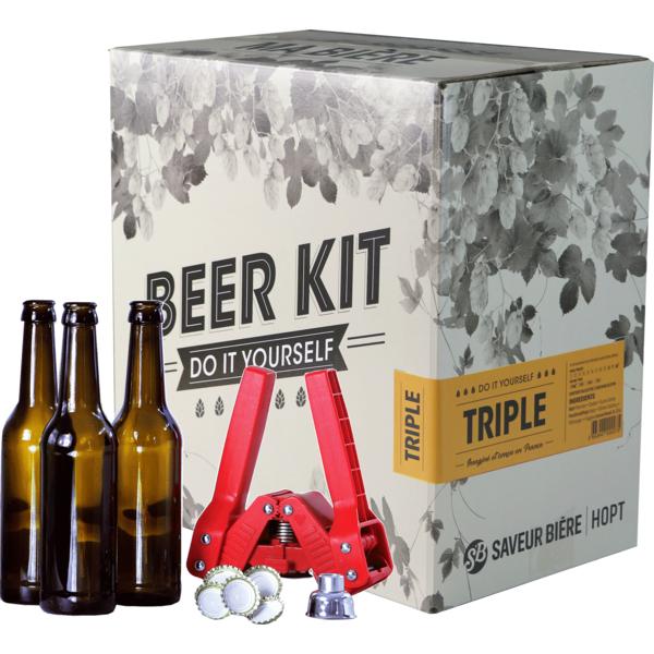 Beer Kit complet, je brasse une triple