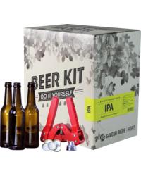 Kit de bière tout grain - Brew Your Own Beer Kit - IPA + Bottling Kit