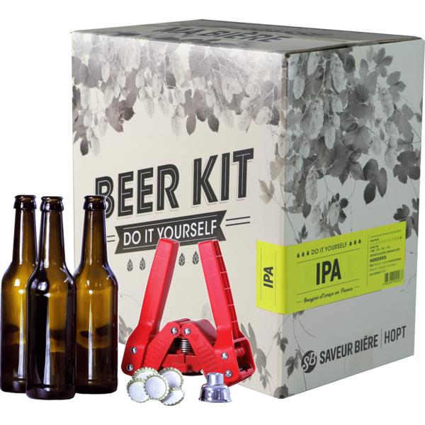 Beer Kit complet, je brasse une IPA