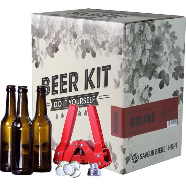Beer Kit complet, je brasse une brune
