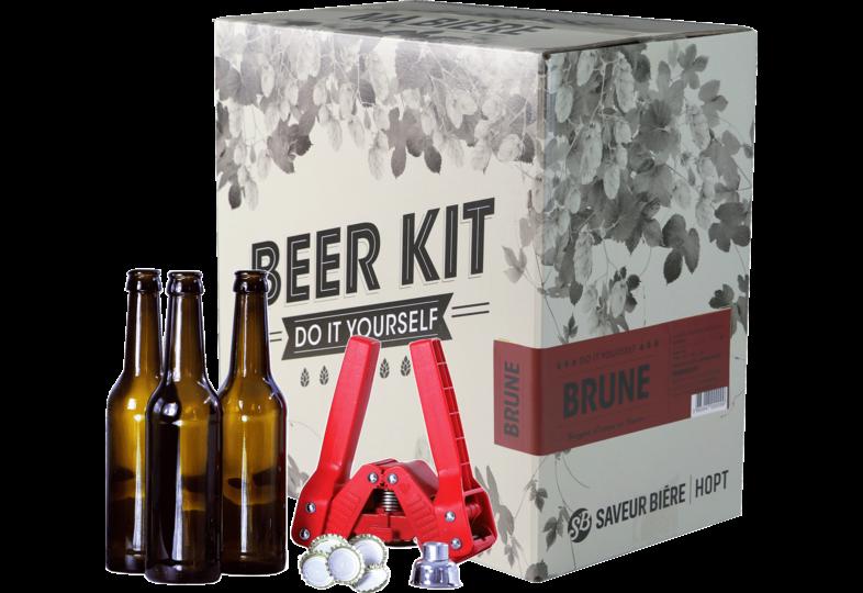 Moutpakket - Brouwpakket, Beerkit Dubbel (L)