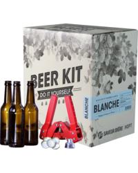 Kit de bière tout grain - Beer Kit complet, je brasse une blanche